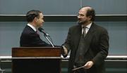 Sir Salman Rushdie named Honorary Visiting Professor of the Humanities (1993)
