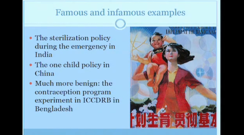 Banerjee & Duflo: 14.73 Lecture 12 — (Somewhat) Un-Orthodox Findings on the Family