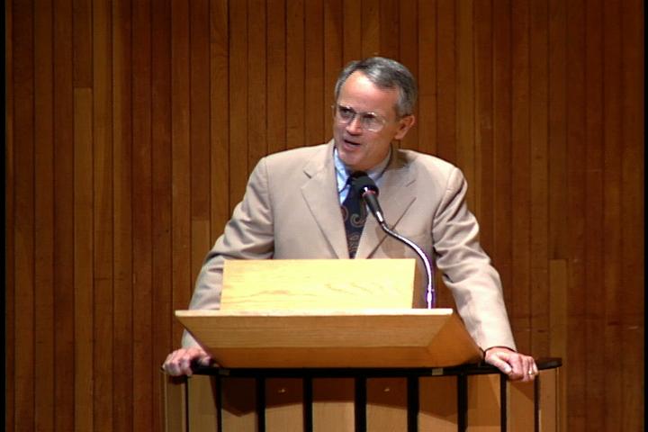 1995 Freshman Convocation: President Charles M. Vest