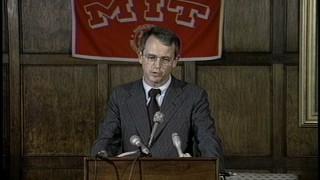 Charles M. Vest Presidential Press Conference